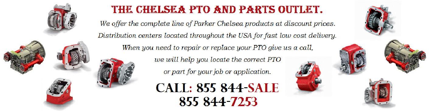 Chelsea PTO, PTO Repair Parts and Rebuilt Units.